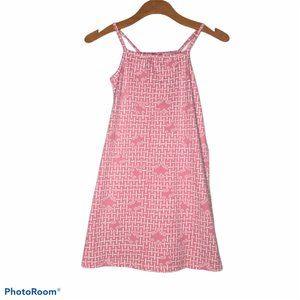 HANNA ANDERSSON FLORAL DRESS SUNDRESS 130 8